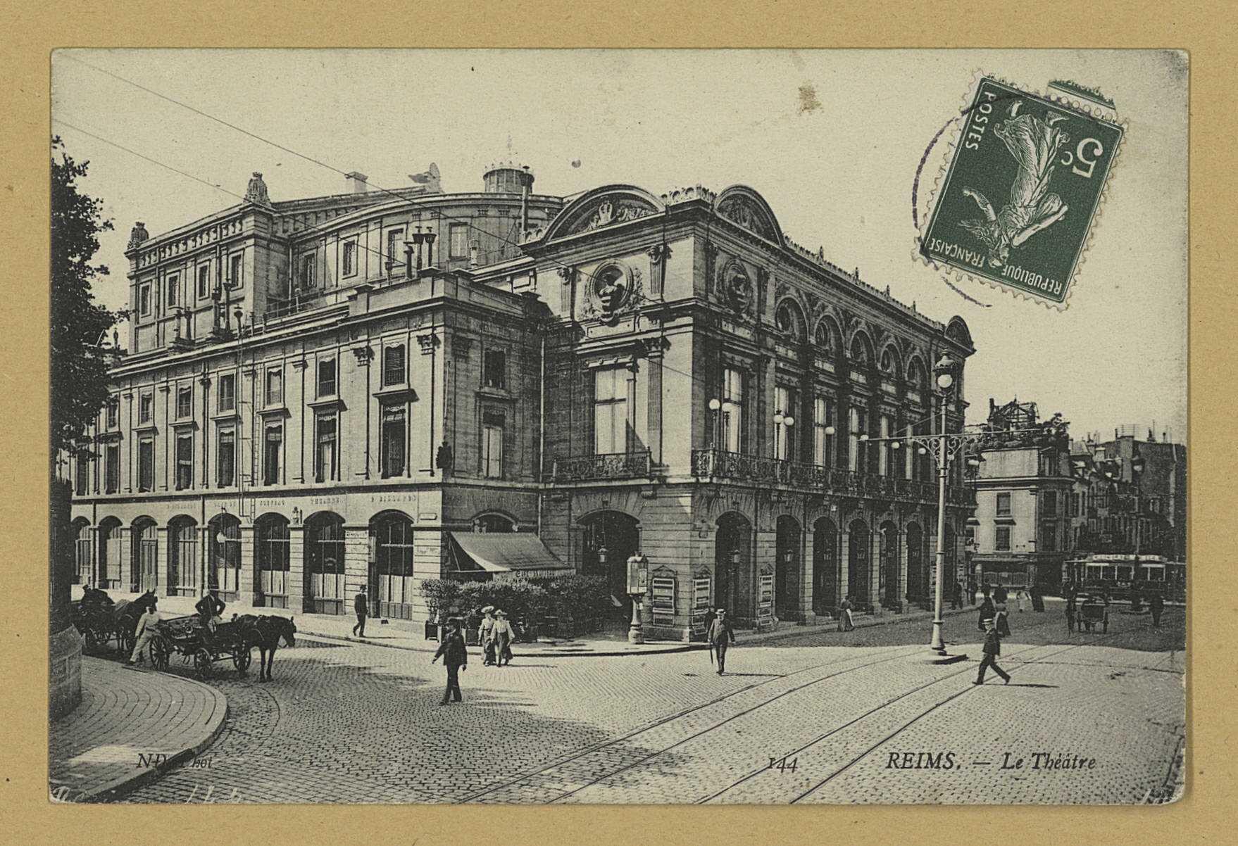 REIMS. 144. Le Théâtre / N.D. Phot.
