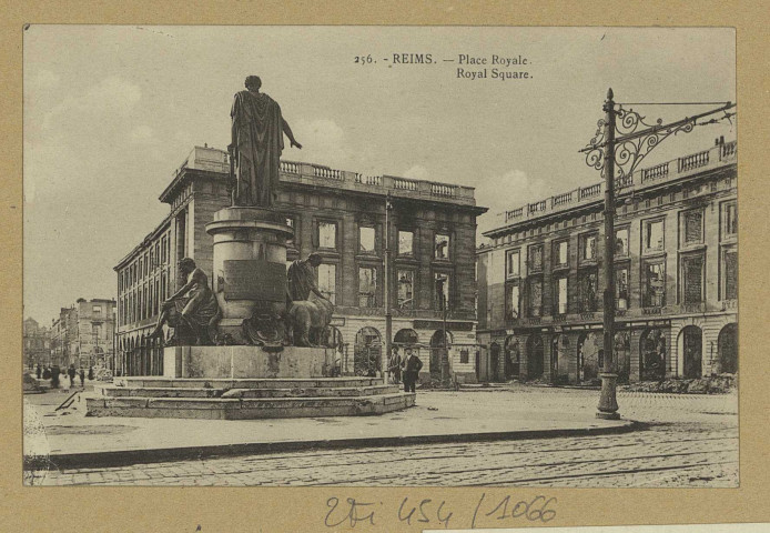 REIMS. 256. Place Royale. Baudet.1920