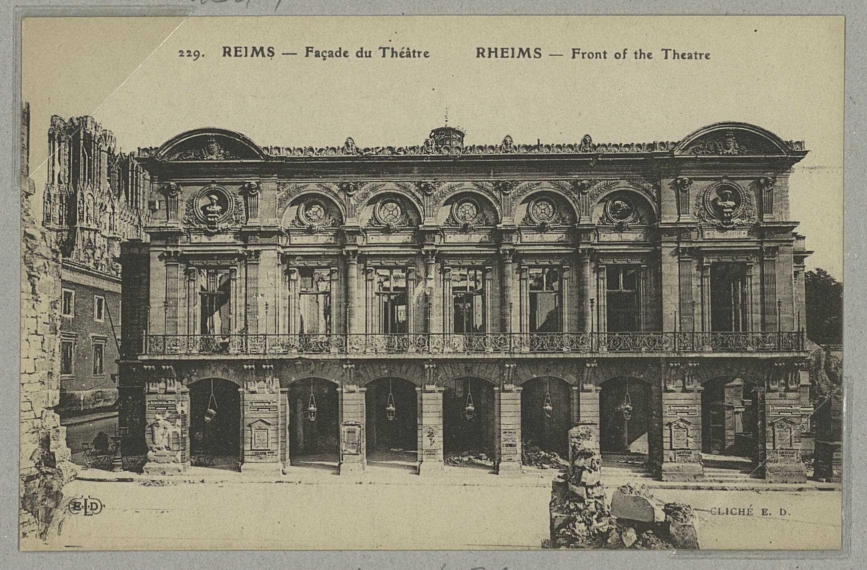 Site : Archives départementales de la Marne