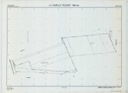Chapelle-Felcourt (La) (51126). Section ZM échelle 1/2000, plan remembré pour 2005 (remembrement Intercommunal Dampierre le Château et Rapsécourt), plan régulier (calque)