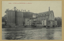 VITRY-EN-PERTHOIS. -3895-Le Moulin. (02 - Château-ThierryA. Rep. et Filliette).Sans date Collection R. F